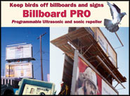 Billboard Pro Sound Repeller