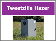 Tweetzilla Bird Hazer