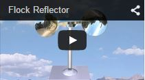 Video Flock Reflector