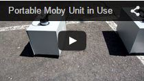 Video Portable Moby Hazer